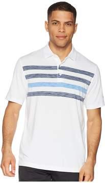 Callaway Space Dye Stripe Polo Men's Clothing