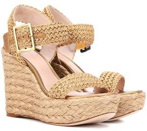 Stuart Weitzman Alexis Bingo wedge sandals