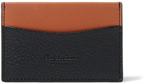 Ralph Lauren Two-Tone Grain Calf Card Case