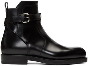 Pierre Hardy Black Park Avenue Buckle Boots