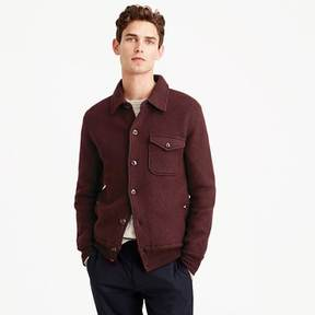 J.Crew Wallace & Barnes sweater-jacket in Italian merino wool
