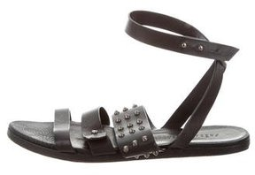 Freda Salvador Leather Spike Sandals
