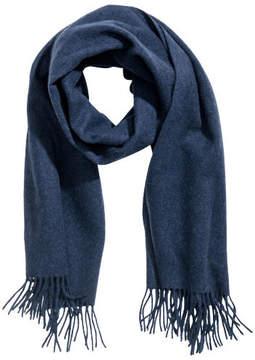 H&M Wool scarf - Blue