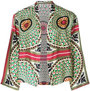 Barena geometric print jacket
