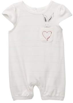 ED Ellen Degeneres Bunny Heart Romper (Baby Girls)