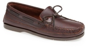 Minnetonka Men's Double Sole Moccasin