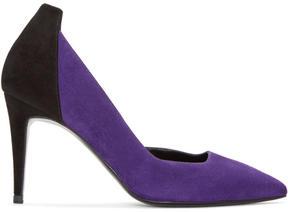 Pierre Hardy Purple Laser dOrsay Heels