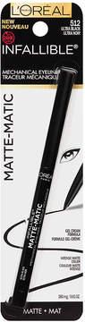 L'Oreal Infallible Matte-Matic Mechanical Eyeliner, Black