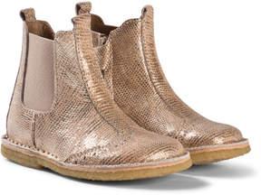 Bisgaard Gold Boots