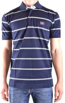 Paul & Shark Men's Blue Cotton Polo Shirt.