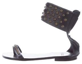Anine Bing Leather Studded Sandals