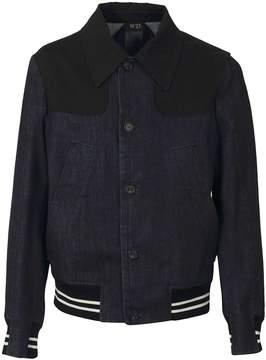 N°21 N.21 Bomber Style Denim Jacket