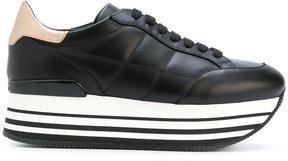 Hogan platform lace-up sneakers
