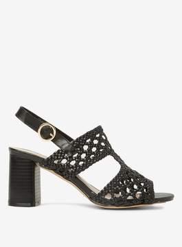 Dorothy Perkins Black Sammy Heeled Sandals