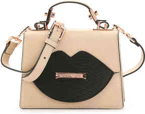 KENDALL + KYLIE Women's Lips Leather Mini Satchel