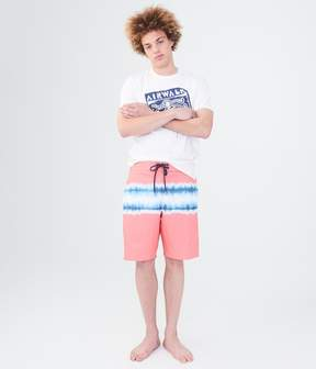 Aeropostale Airwalk Tie-Dye Stretch Boardshorts