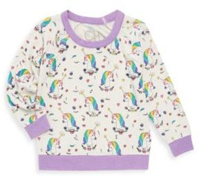 Chaser Toddler's & Little Girl's Unicorns Knit Pullover