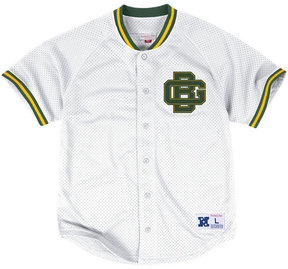 Mitchell & Ness Men's Green Bay Packers Seasoned Pro Mesh Button Front Shirt