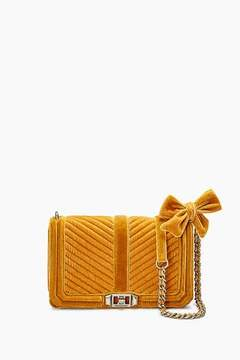 Rebecca Minkoff Velvet Chevron Quilted Love Crossbody - ONE COLOR - STYLE