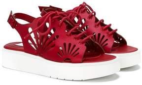 Stella McCartney open toe platform sandals