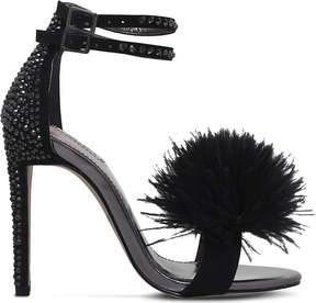 Carvela Glenn fluffy faux-suede sandals