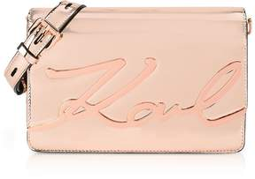 Karl Lagerfeld K/Signature Gloss Shoulder Bag