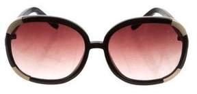 Chloé Oversize Round Sunglasses