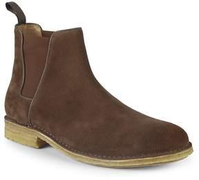 Aquatalia Men's Oscar Waterproof Suede Chelsea Boots