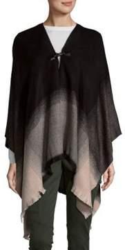 Calvin Klein Ombre Heathered Ruana