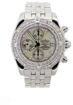 Breitling Chronomat Evolution A13356 Stainless Steel & Diamonds Mens Watch