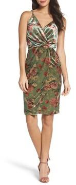 Adelyn Rae Women's Adela Twist Sheath Dress