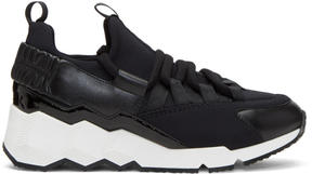 Pierre Hardy Black Trek Comet Sneakers