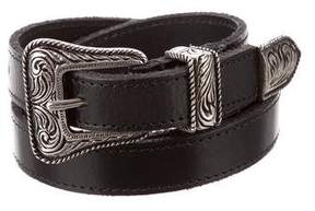 Saint Laurent Leather Waist Belt