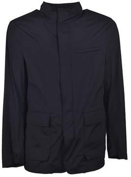 Allegri Men's Blue Polyester Outerwear Jacket.