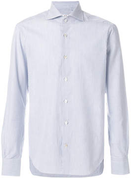 Kiton fine stripe shirt