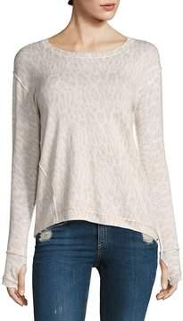 Generation Love Women's Alexa Leopard Sweater