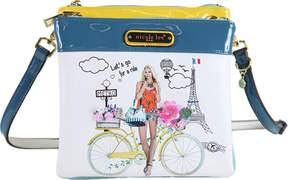 Nicole Lee Spring Ride Print Cross Body Bag (Women's)