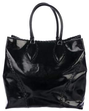 Alaia Patent Leather Tote