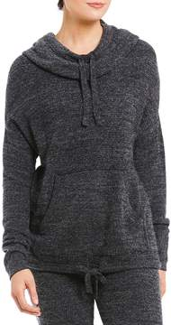Barefoot Dreams Cozy Chic Lite Pebble Beach Hooded Lounge Top