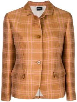 Aspesi plaid shirt jacket