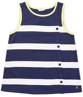 Nautica Little Girls' Bold Stripe Tank (2T-7)