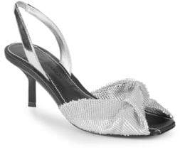 Sigerson Morrison Jana Leather Slingback Sandals