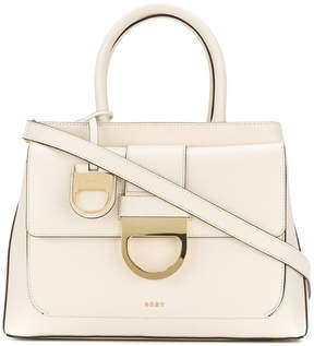 DKNY buckle cross-body tote