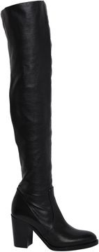 Strategia 80mm Stretch Leather Over The Knee Boots