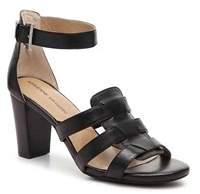 Adrienne Vittadini Womens Belinda Leather Open Toe Casual Slingback Sandals.