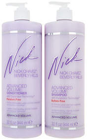 Nick Chavez Advanced Volume Sulfate Free Shampoo & Conditioner