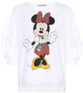 Christopher Kane Blouson-sleeve Minnie Mouse T-shirt