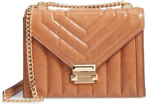 MICHAEL Michael Kors Large Quilted Leather Shoulder Bag