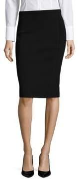 Context Textured Pencil Skirt