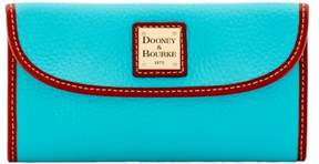 Dooney & Bourke Pebble Grain Continental Clutch Wallet - CALYPSO - STYLE